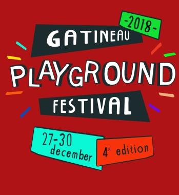 Logo 2018 of Gatineau playground festival